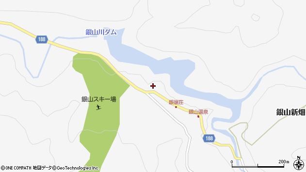 山形県尾花沢市銀山新畑75周辺の地図