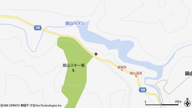 山形県尾花沢市銀山新畑92周辺の地図