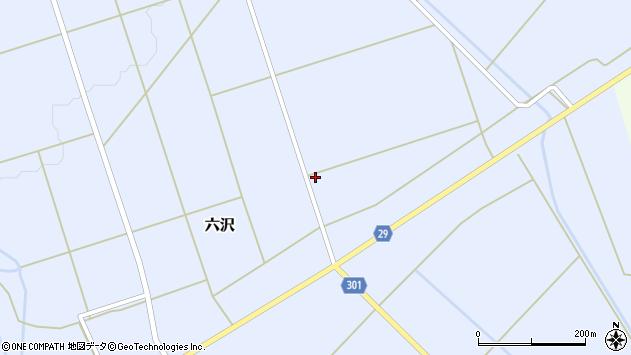 山形県尾花沢市六沢933周辺の地図