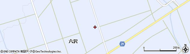 山形県尾花沢市六沢971周辺の地図