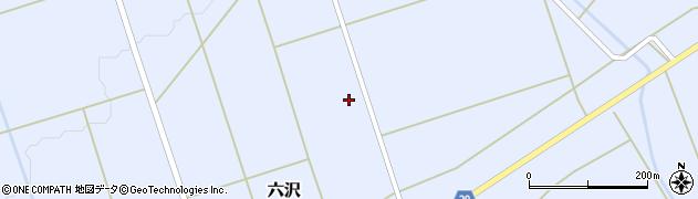 山形県尾花沢市六沢973周辺の地図