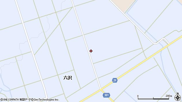 山形県尾花沢市六沢939周辺の地図