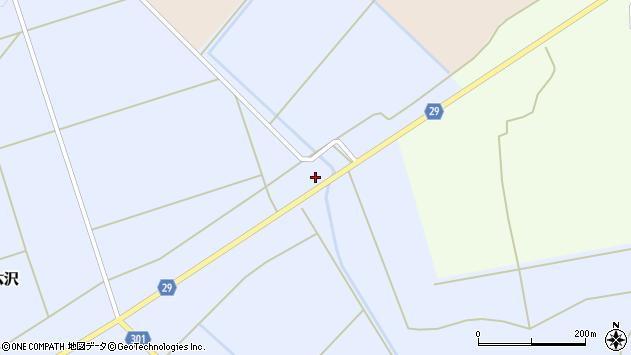山形県尾花沢市六沢814周辺の地図