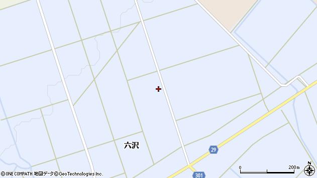 山形県尾花沢市六沢979周辺の地図