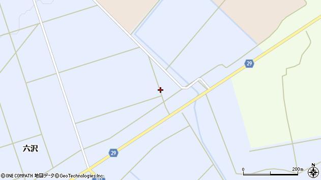 山形県尾花沢市六沢844周辺の地図