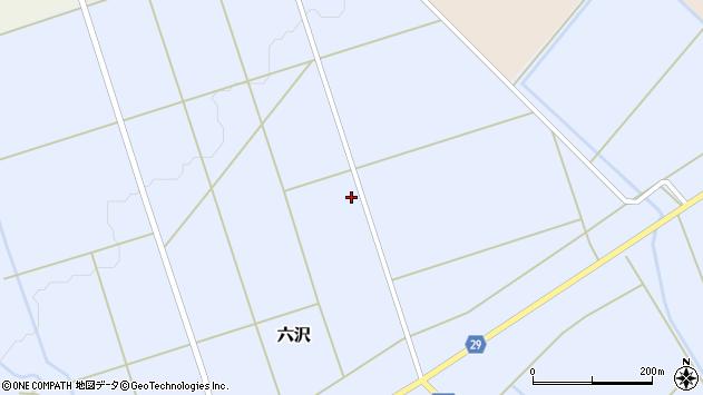 山形県尾花沢市六沢981周辺の地図