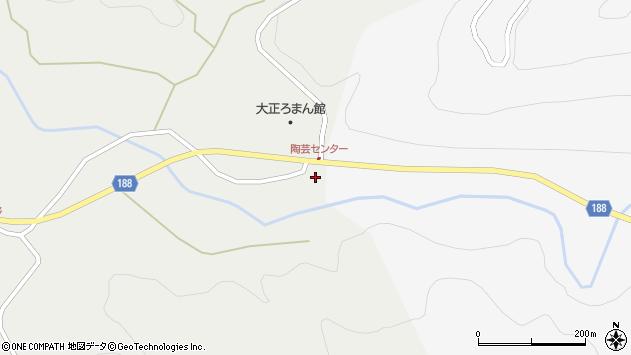 山形県尾花沢市上柳渡戸376周辺の地図