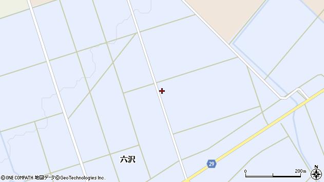 山形県尾花沢市六沢946周辺の地図