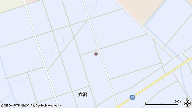 山形県尾花沢市六沢983周辺の地図