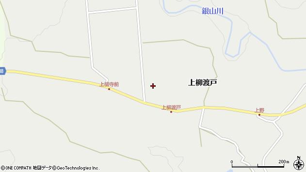 山形県尾花沢市上柳渡戸寺町周辺の地図