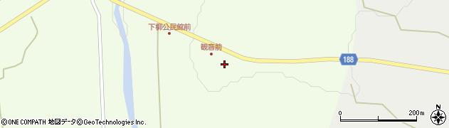 山形県尾花沢市下柳渡戸62周辺の地図