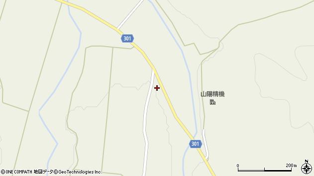 山形県尾花沢市延沢1097周辺の地図