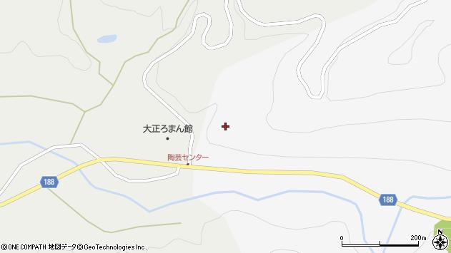 山形県尾花沢市銀山新畑十分一周辺の地図