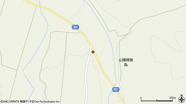 山形県尾花沢市延沢1308周辺の地図