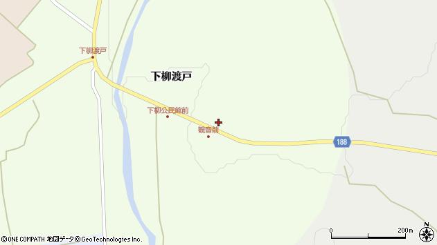 山形県尾花沢市下柳渡戸52周辺の地図