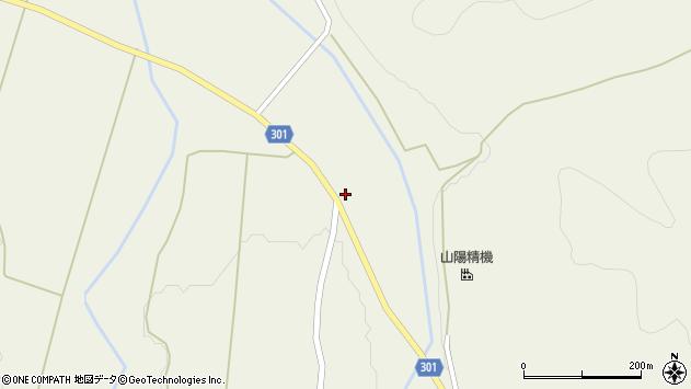 山形県尾花沢市延沢1098周辺の地図
