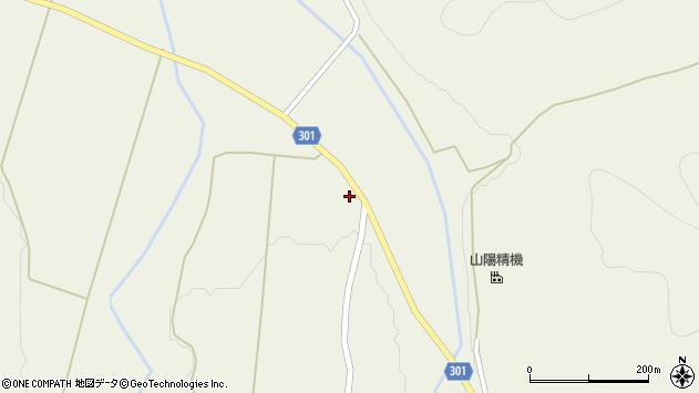山形県尾花沢市延沢3538周辺の地図