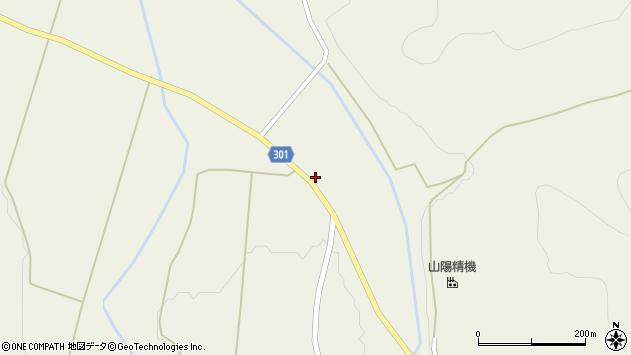 山形県尾花沢市延沢1107周辺の地図