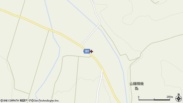 山形県尾花沢市延沢1108周辺の地図