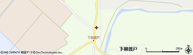 山形県尾花沢市下柳渡戸391周辺の地図