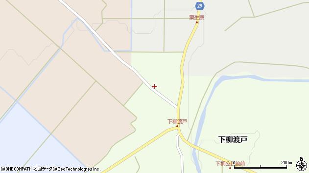 山形県尾花沢市下柳渡戸385周辺の地図