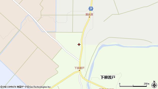 山形県尾花沢市下柳渡戸386周辺の地図