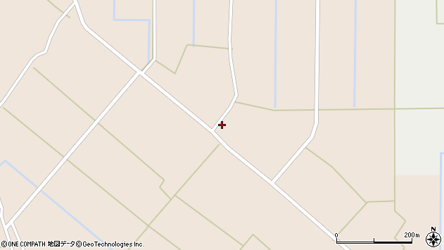 山形県尾花沢市原田29周辺の地図