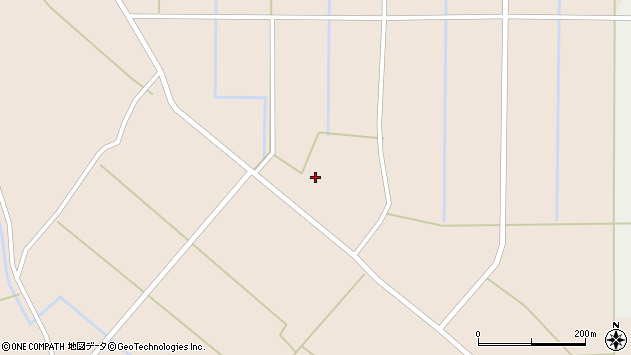 山形県尾花沢市原田78周辺の地図