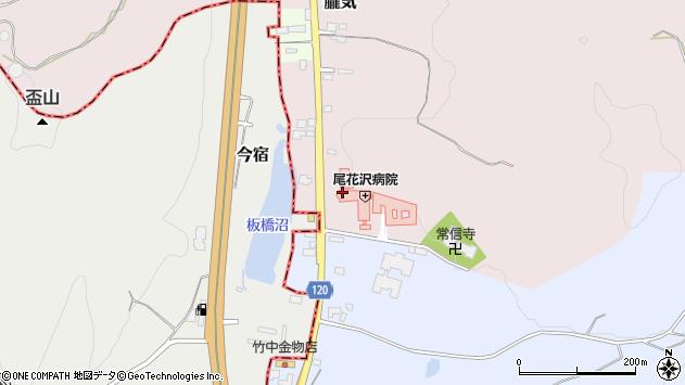 山形県尾花沢市朧気695周辺の地図