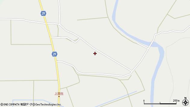山形県尾花沢市上柳渡戸713周辺の地図