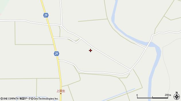山形県尾花沢市上柳渡戸714周辺の地図