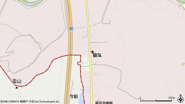 山形県尾花沢市朧気669周辺の地図