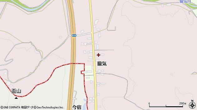 山形県尾花沢市朧気673周辺の地図