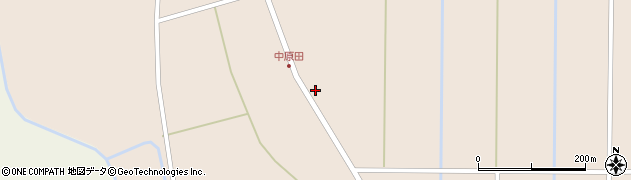 山形県尾花沢市原田136周辺の地図