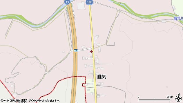 山形県尾花沢市朧気665周辺の地図