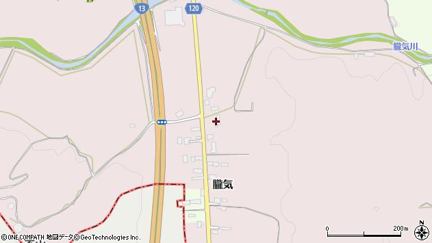 山形県尾花沢市朧気35周辺の地図