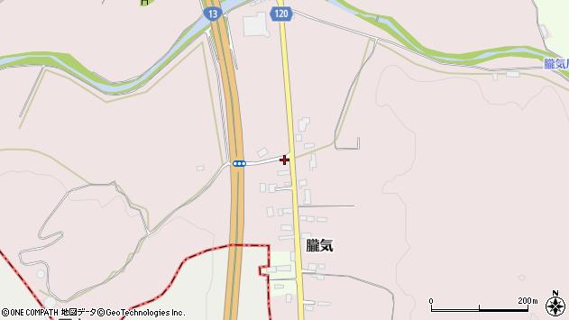 山形県尾花沢市朧気656周辺の地図