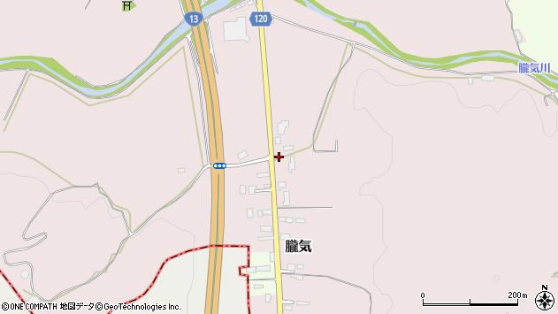 山形県尾花沢市朧気720周辺の地図