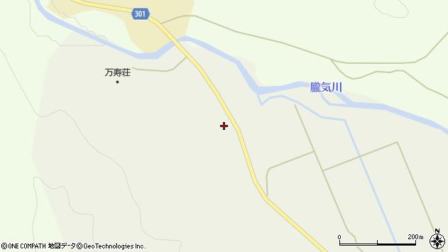 山形県尾花沢市延沢2267周辺の地図