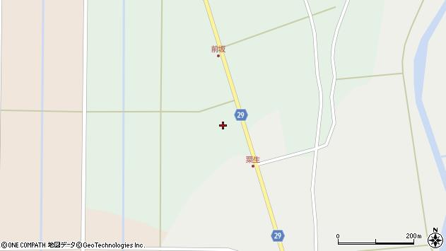 山形県尾花沢市上柳渡戸1244周辺の地図