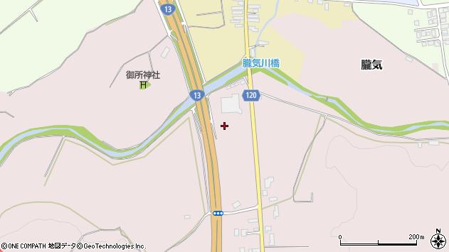 山形県尾花沢市朧気下朧気周辺の地図