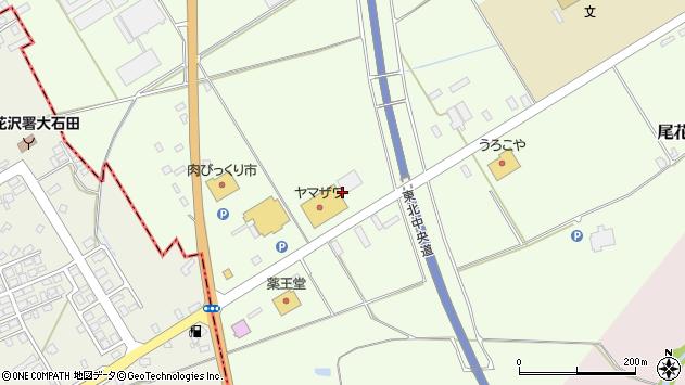 山形県尾花沢市尾花沢下新田1403周辺の地図