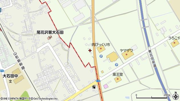 山形県尾花沢市尾花沢1348周辺の地図