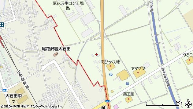 山形県尾花沢市尾花沢1351周辺の地図