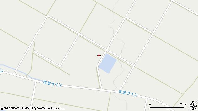 山形県尾花沢市二藤袋1739周辺の地図