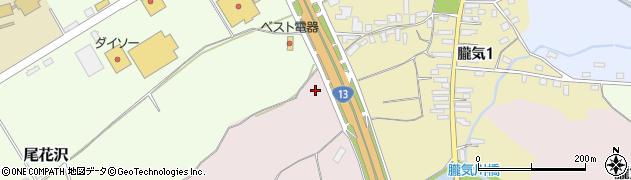 山形県尾花沢市朧気443周辺の地図