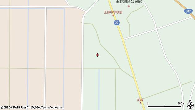 山形県尾花沢市鶴巻田1178周辺の地図