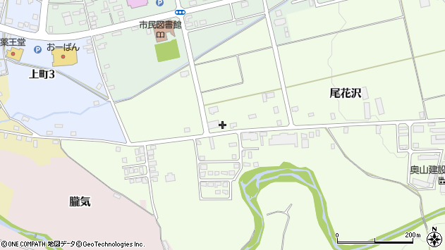 山形県尾花沢市尾花沢中新田3009周辺の地図