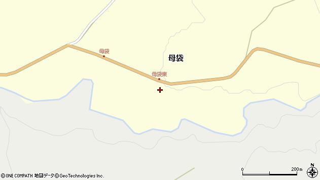 山形県尾花沢市母袋165周辺の地図