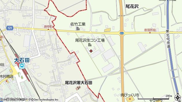 山形県尾花沢市尾花沢下新田1316周辺の地図